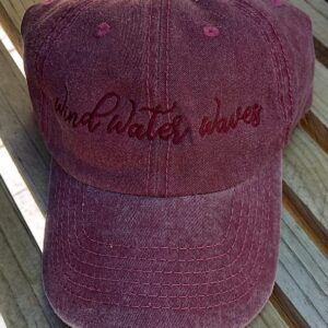 Berry Washed Cap
